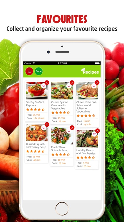 Yummy Vegetable Recipes Pro ~ Best of delicious vegetable recipes screenshot-3