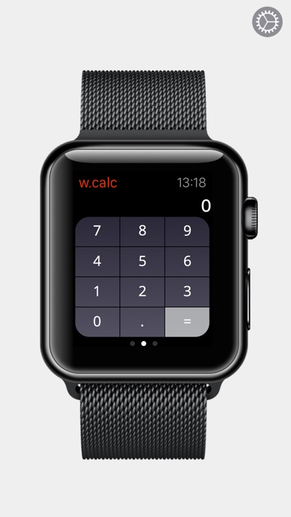 wearCalc - your personal wearable calculator