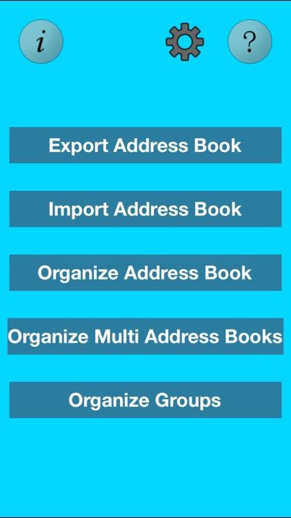 Super Multi Address Book Organizer