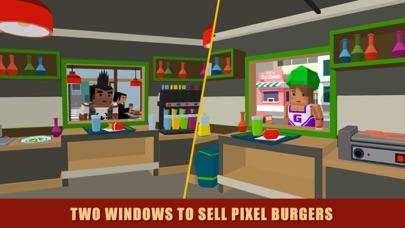 Pixel Burger Simulator 3D - 2 Full screenshot three
