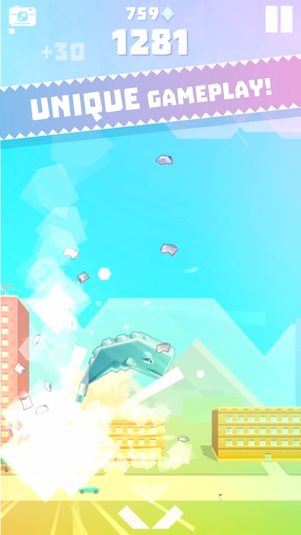 Ookujira - Giant Whale Rampage screenshot-3