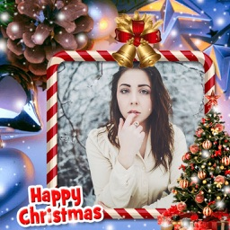 Holiday Christmas Frame - Picture art