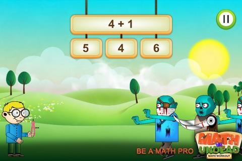 Math Vs Undead: Math Game - náhled