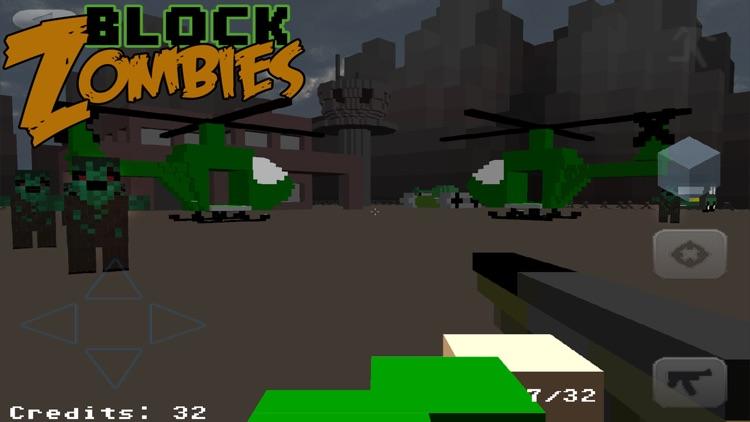Block Warfare: Zombies FREE screenshot-3