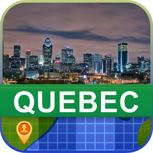 Offline Quebec, Canada Map - World Offline Maps