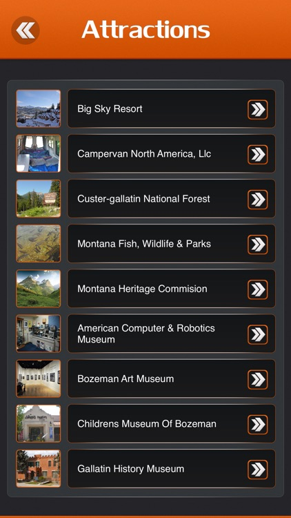 Bozeman City Guide screenshot-2