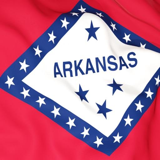 Arkansas Flag Stickers