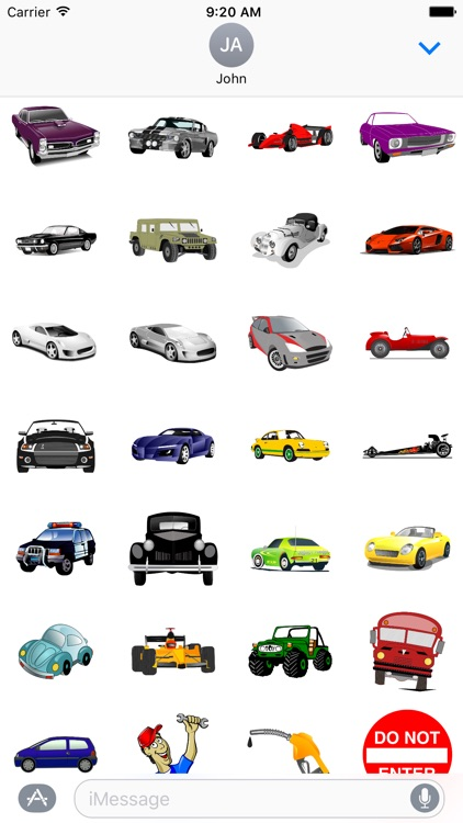 Carmoji Stickers - Car Stickers For iMessage