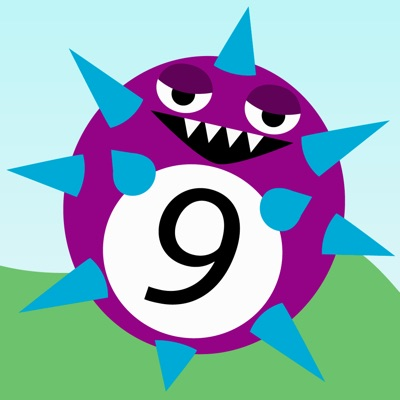 Monster Math - A learning maths game for kids ios app