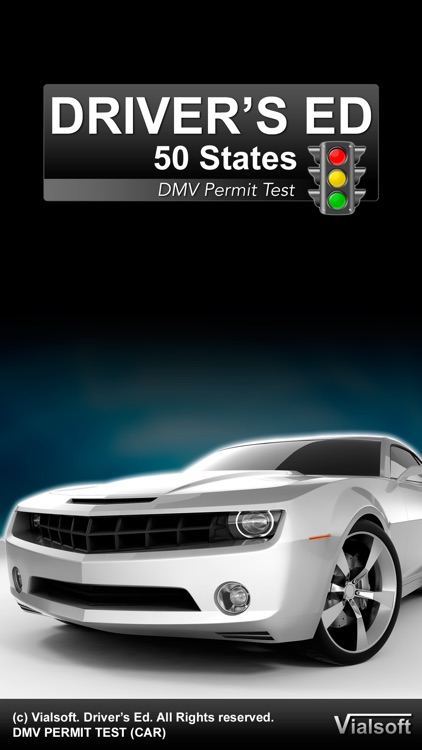 Drivers Ed Free: DMV Permit Practice Driving Test