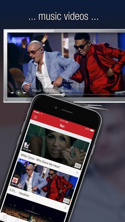 Flipps - Movies, Music & News on TV screenshot-3