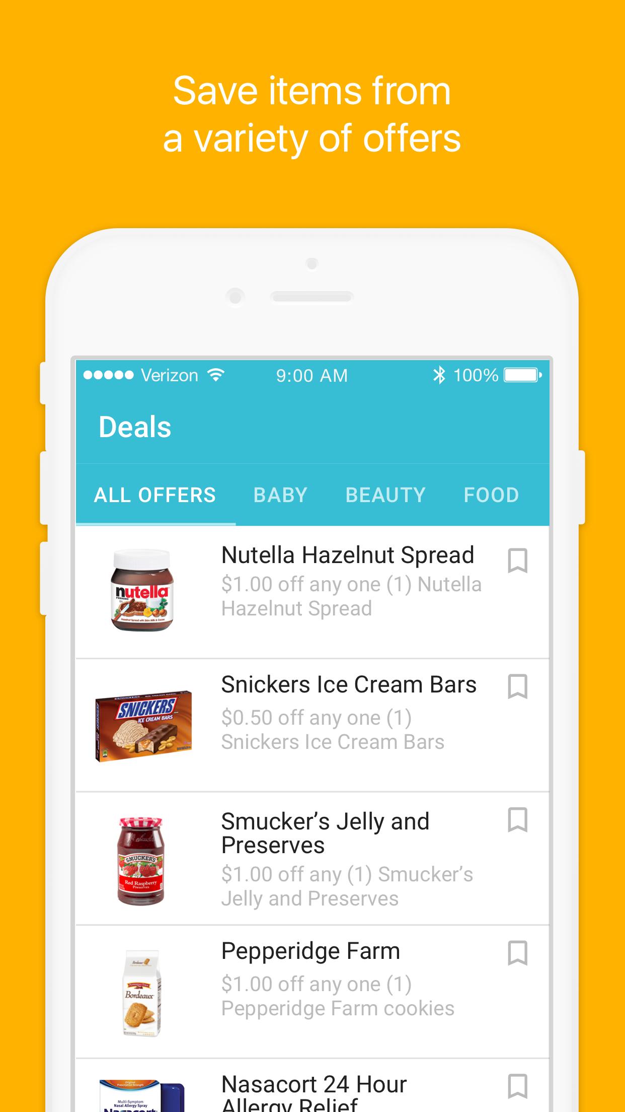 MobiSave Rebates Screenshot