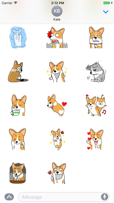 Lucy The Welsh Corgi Animated - Lazy Day screenshot two