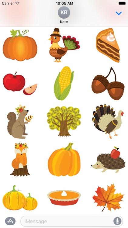 Thanksgiving Stickers #1 screenshot-3