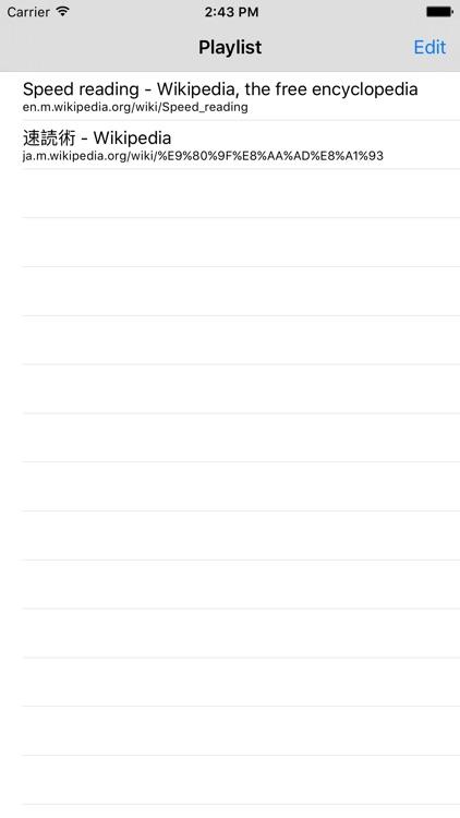 Skimmer - Speed Reading screenshot-4