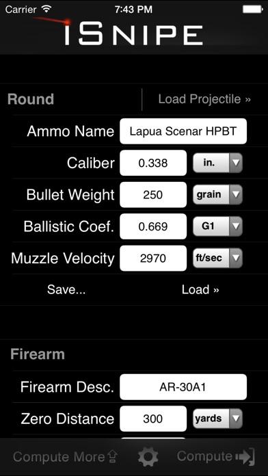 iSnipe screenshot one