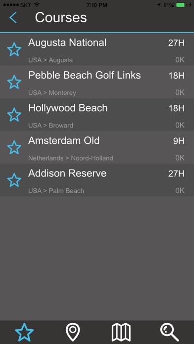 Golf NAVI Pro screenshot1