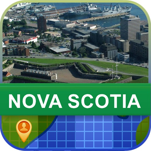 Nova Scotia, Canada Map - World Offline Maps