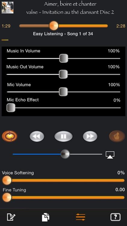 Karaoke Easy Listening Player