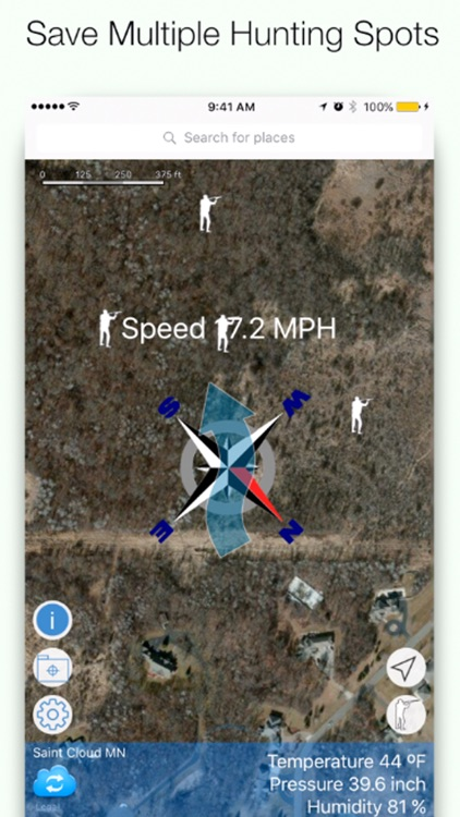 Wind Direction for Coyote Hunting - Windfinder screenshot-3