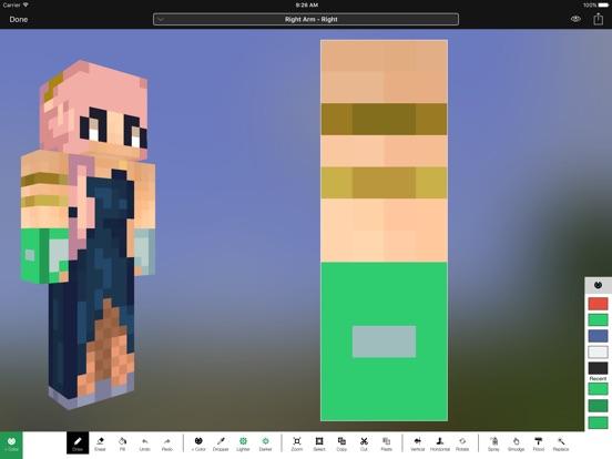 Screenshot #5 pour Minecraft: Skin Studio
