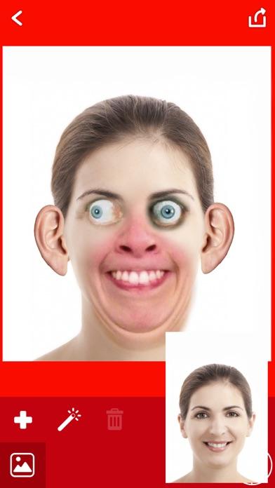 醜い 顔 写真 編集者 - おかしい カメラ ステッカー紹介画像4
