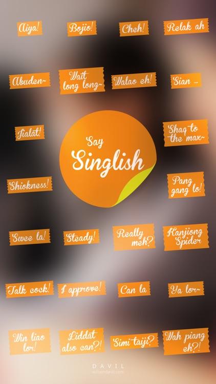 Say Singlish