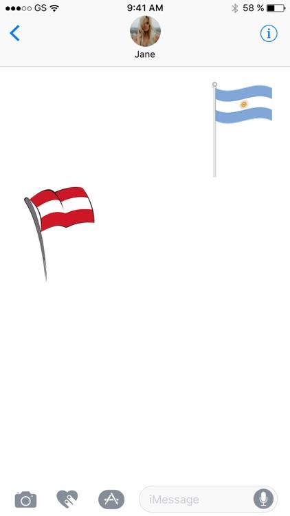 Flag Sticker Pack!