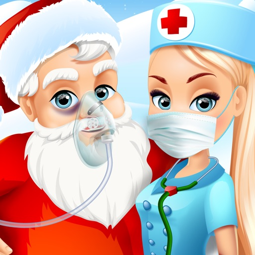 Santa Ambulance Rescue - Kids Christmas Games