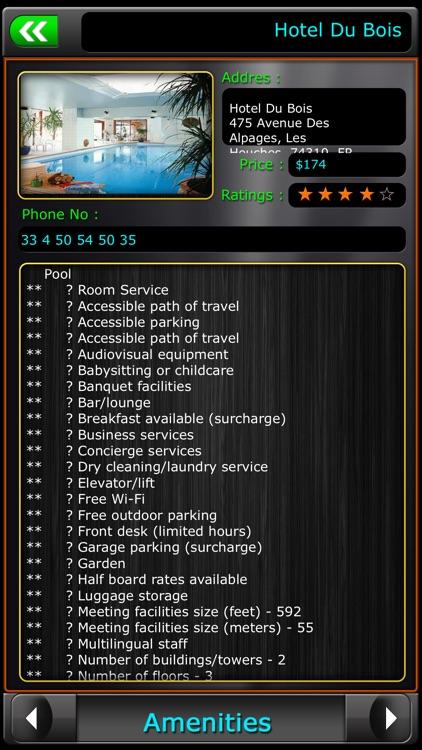 Chamonix-Mont-Blanc Offline Map Travel Guide screenshot-3
