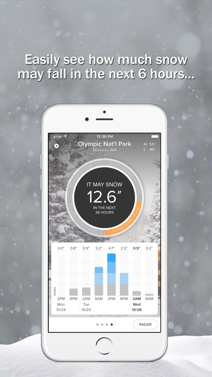 SnowCast - See how much snowfall you could get screenshot-0