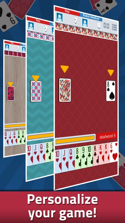 Gin Rummy - Classic Card Game screenshot-3