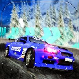 Highway Snow Rally -Car Stunt
