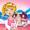 娃娃屋裝修女孩的游戏: 设计你的梦想家园