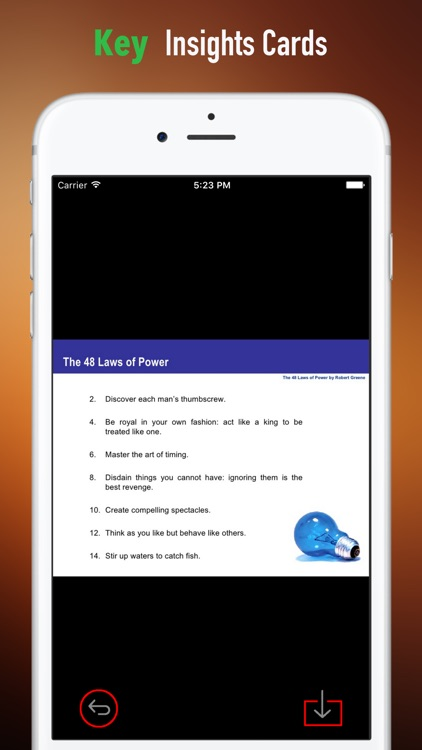 Practical Guide for The 48 Laws of Power screenshot-3