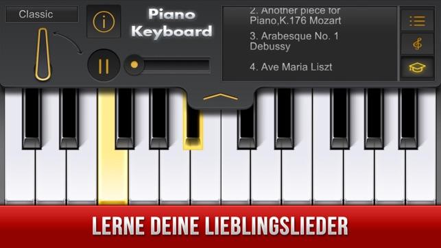 echte Klavier App