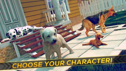 Dog Simulator 2016 . Free Dog Games For Children Screenshot on iOS