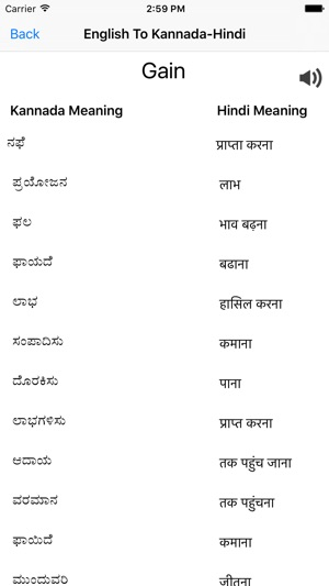 English To Kannada Hindi on the App Store