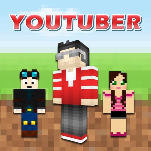 Cube Youtuber Skins For Minecraft Pocket Edition - Skins para minecraft pe youtubers