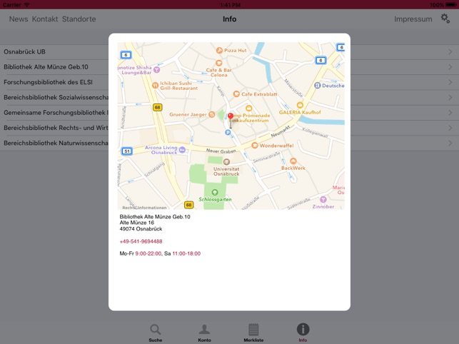 Bibapp Uos Im App Store