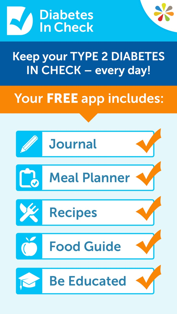 Diabetes in Check: Blood Glucose & Carb Tracker Screenshot