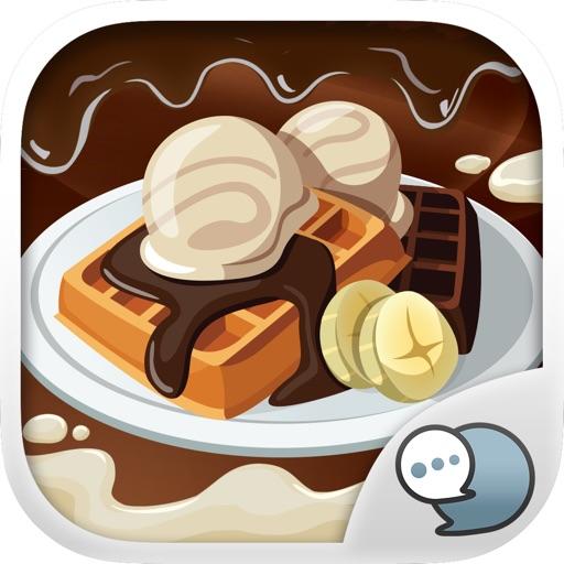 Chocolate Emoji Stickers Keyboard Themes ChatStick