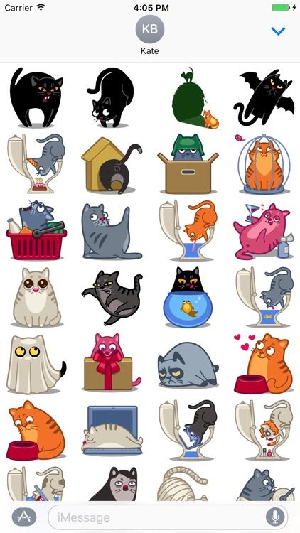 World of cat - Fx Sticker
