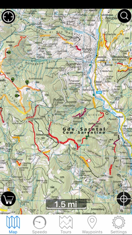 Scout Outdoor-Navigation for Biking and Hiking screenshot-1