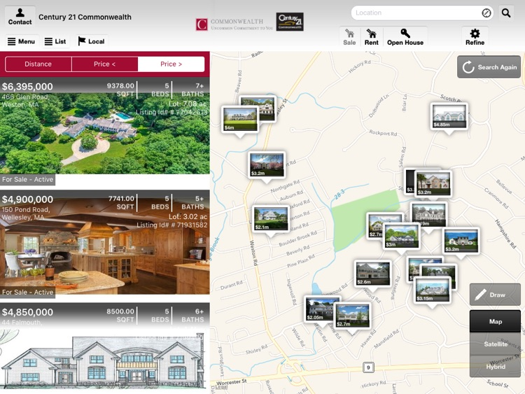 Commonwealth Real Estate for iPad
