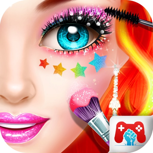Christmas Doll Party Makeover icon