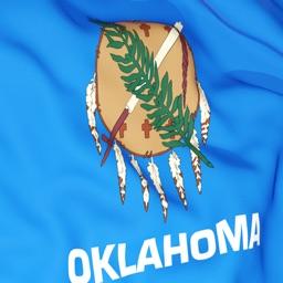 Oklahoma Flag Stickers