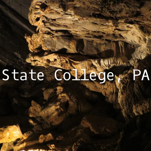 hiStatecollegepa: Offline Map of State College, PA
