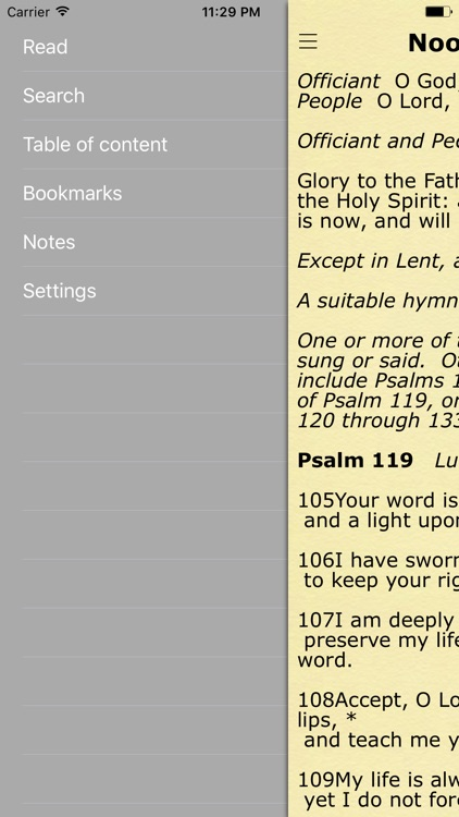 Book of Common Prayer. All Prayers for each Day