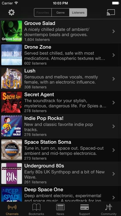 SomaFM Radio Player screenshot-0